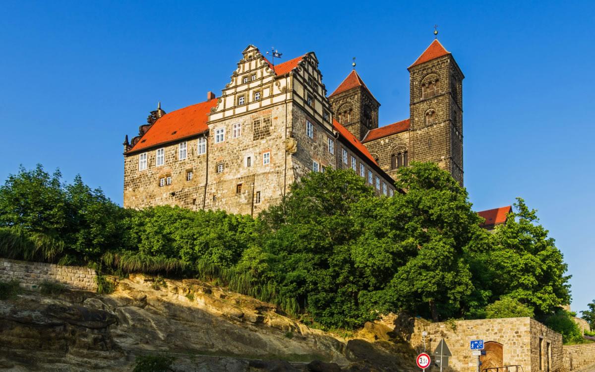 castillo de Quedlinburg