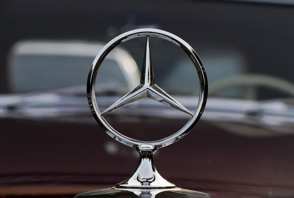 estrella de coche mercedes