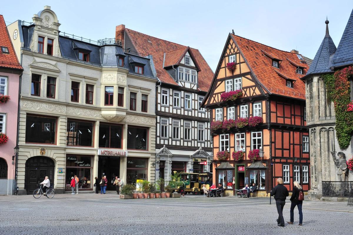 plaza de Quedlinburg