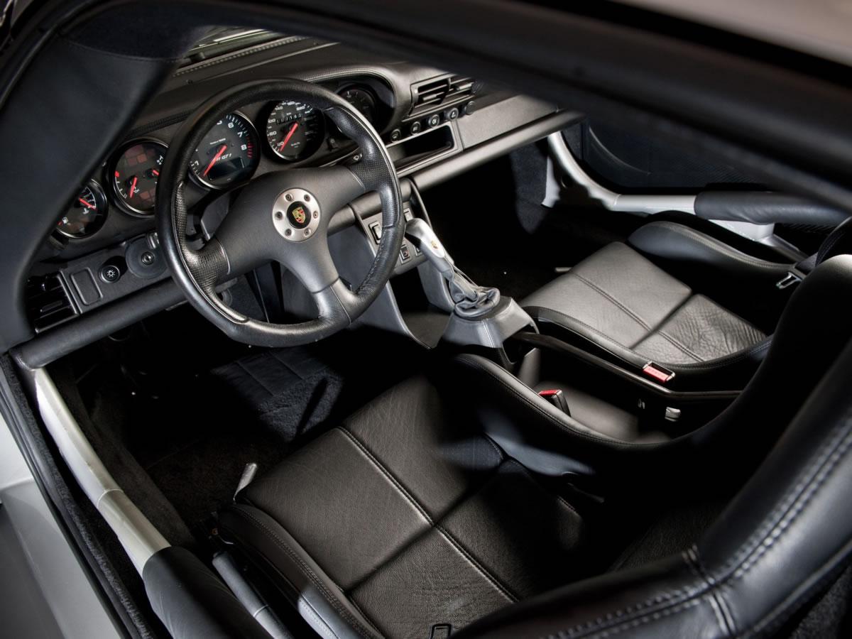 interior del Porsche 996
