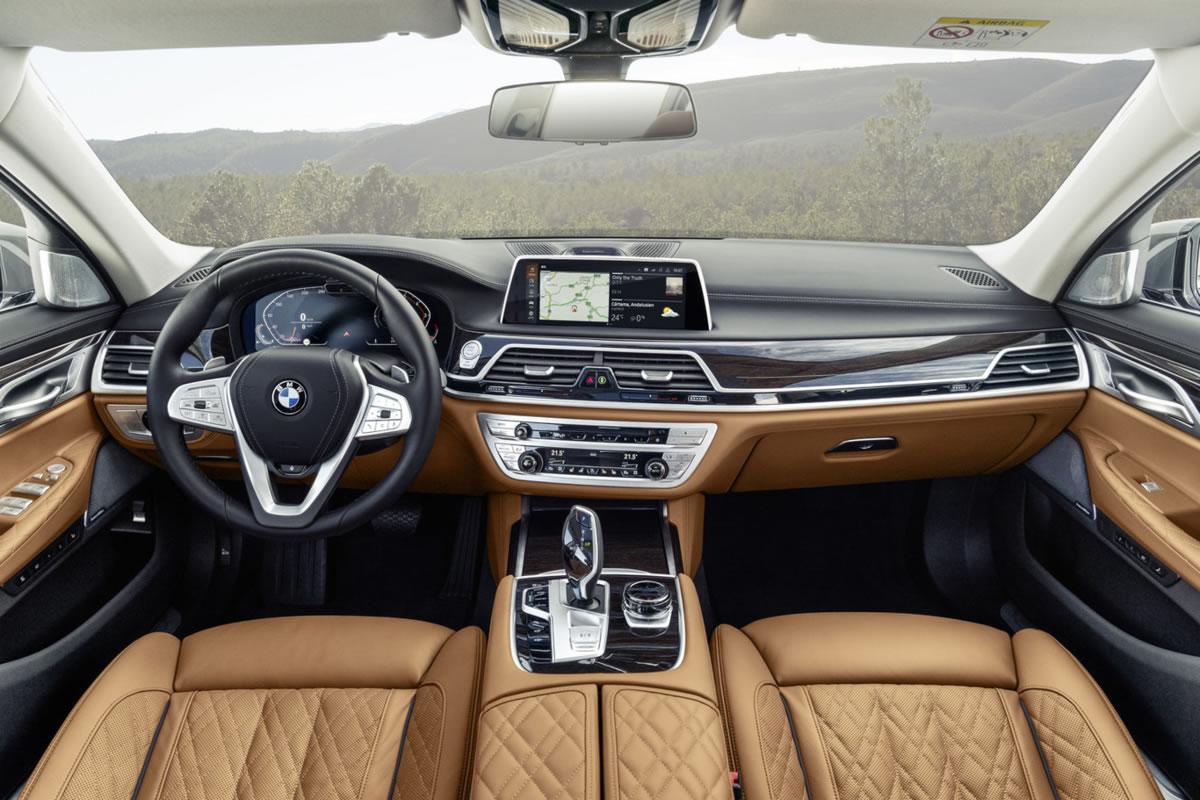cuadro de mandos del BMW Serie 7