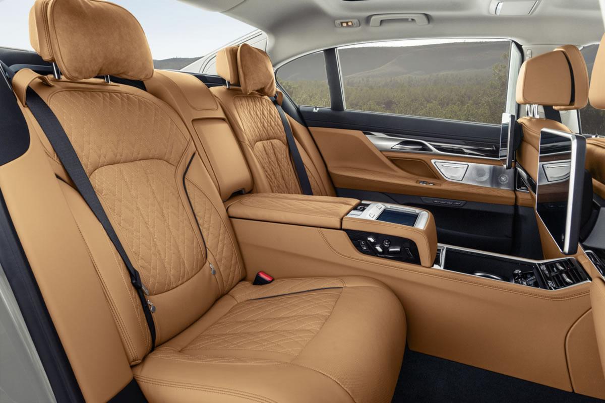 interior nuevo BMW Serie 7
