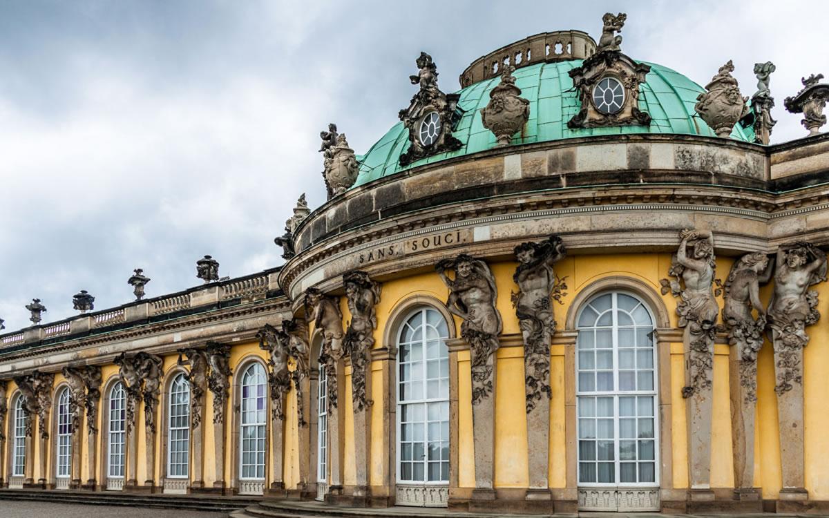 Palacio Sanssouci de Potsdam