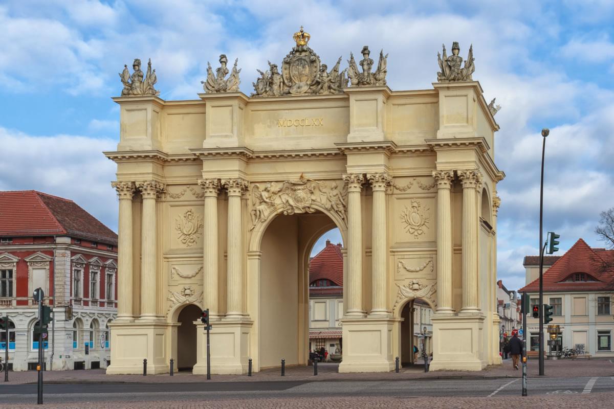 Puerta de Bradenburgo de Potsdam