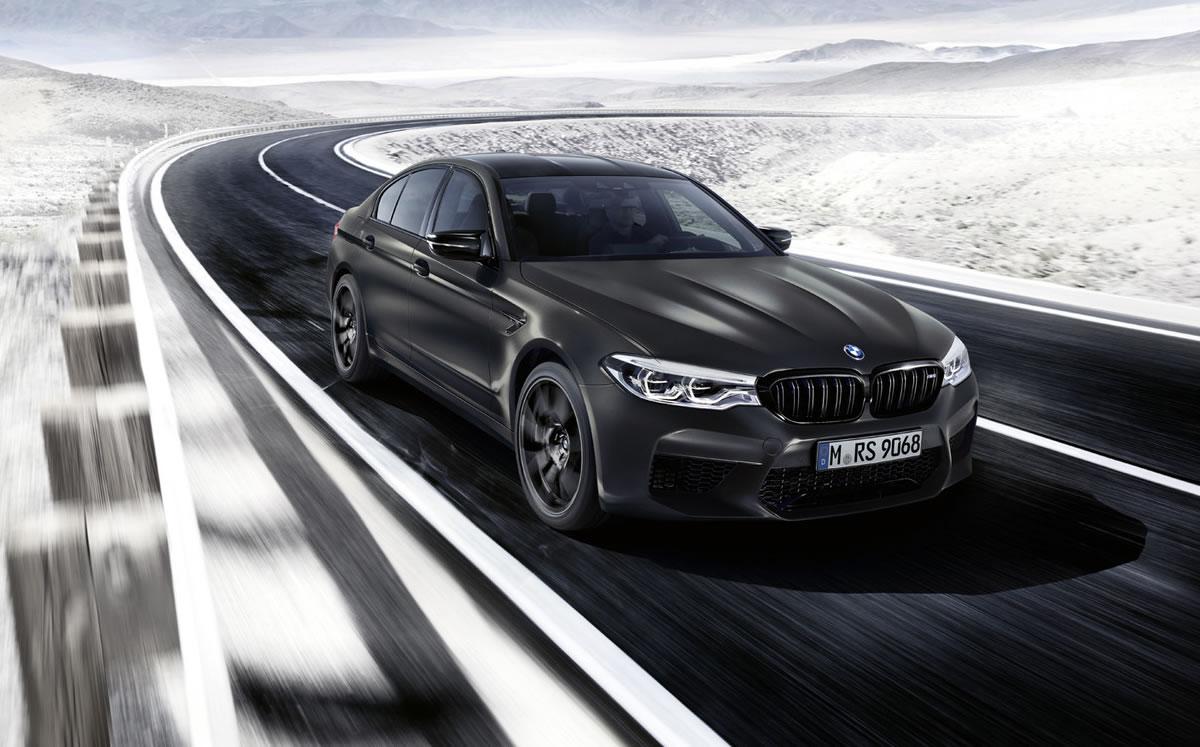 Vistal frontal del BMW M5 Edición 35 Aniversario