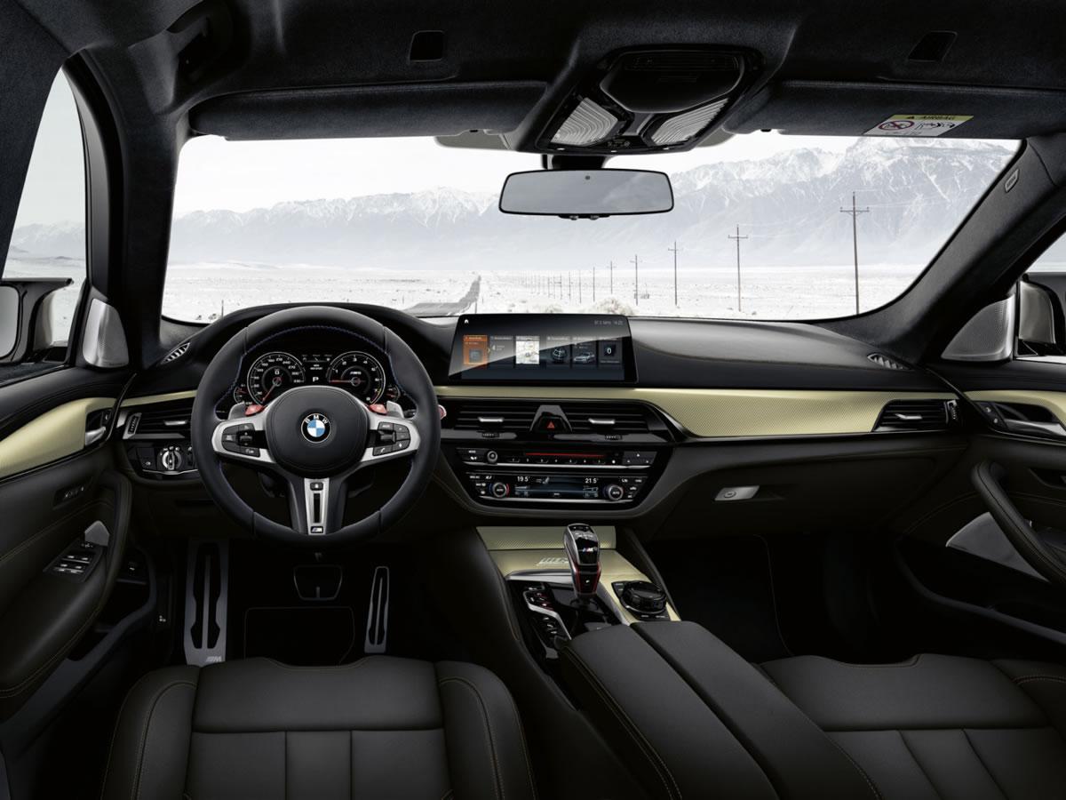 Interior del BMW M5 Edición 35 Aniversario