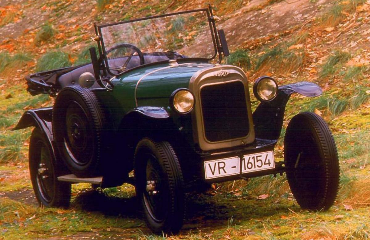 Opel rana verde