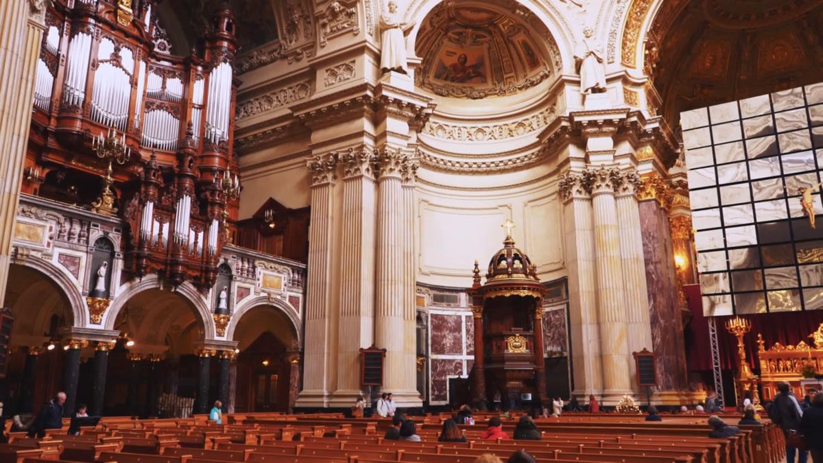 órgano de la Berliner Dom