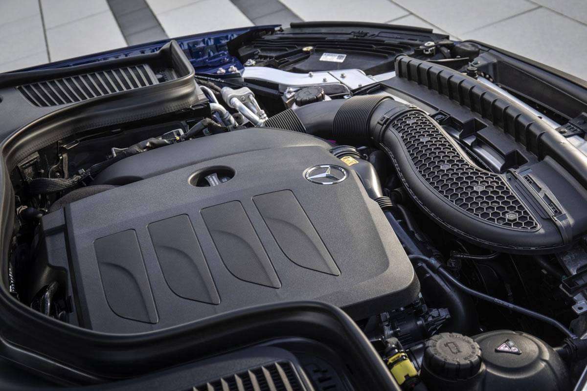 motor del Mercedes-Benz GLC 2019