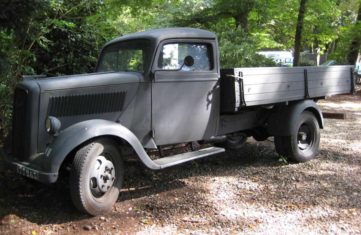 Opel y Segunda Guerra Mundial