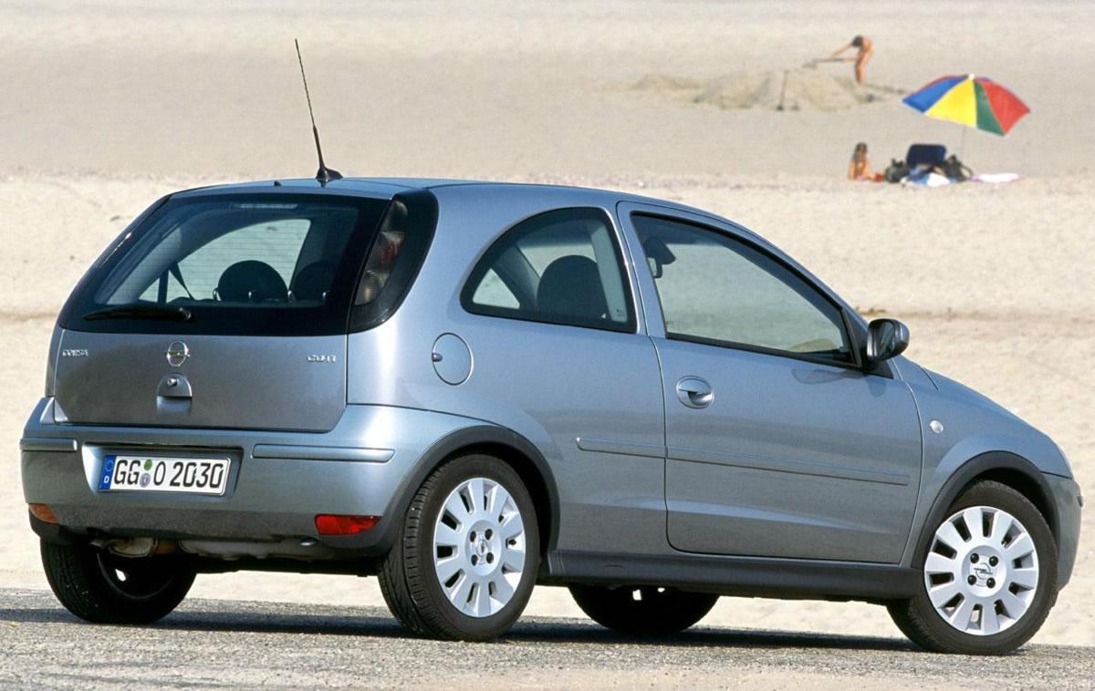 tercera generación de Opel Corsa
