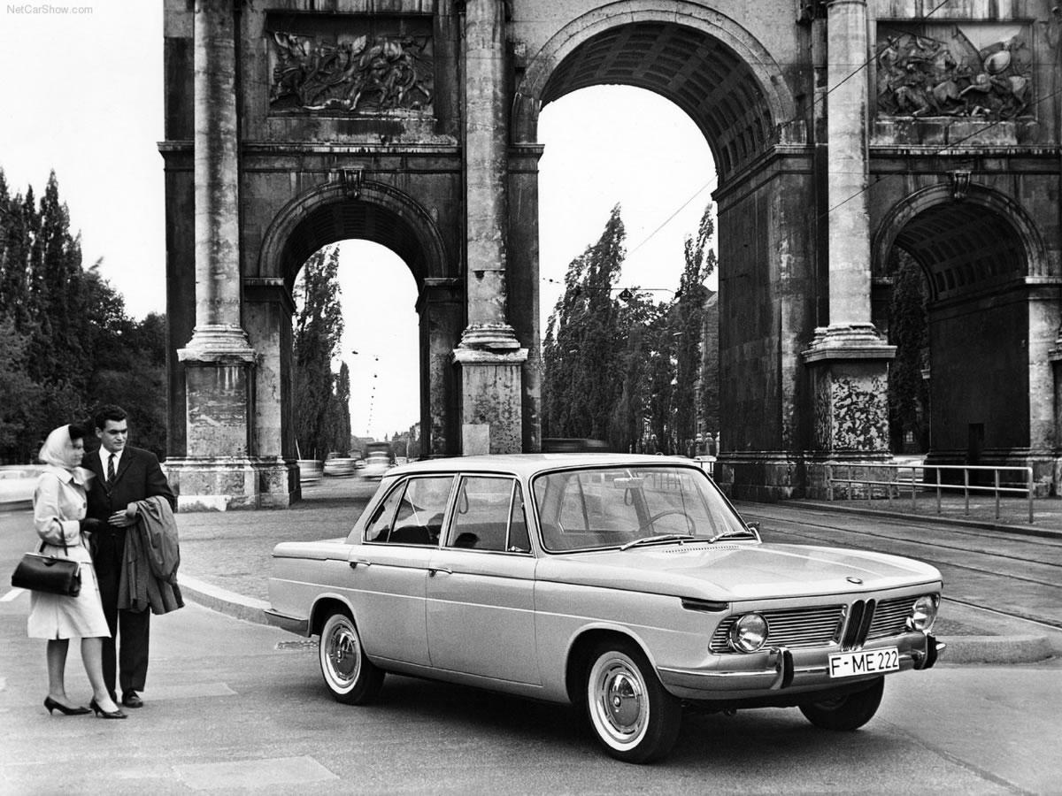 publicidad del BMW 1500