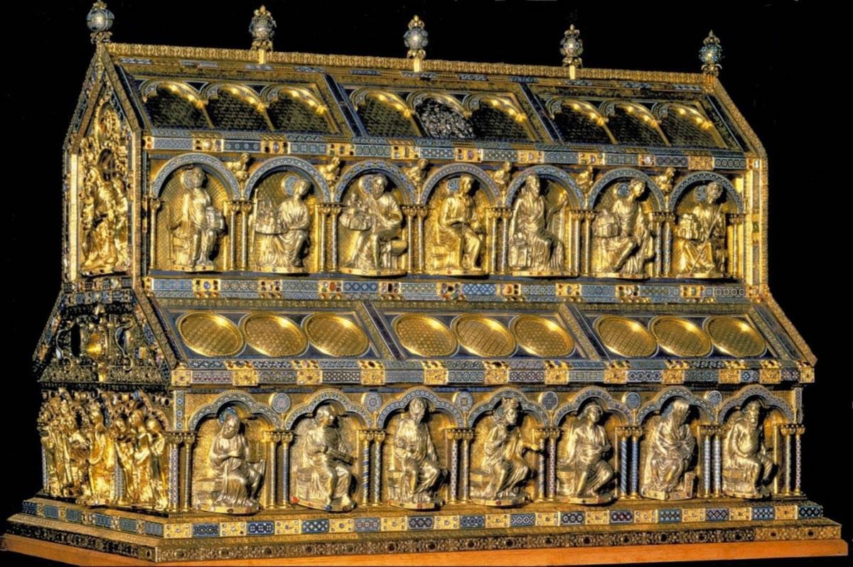 relicario de los Reyes Magos de la Catedral de Colonia