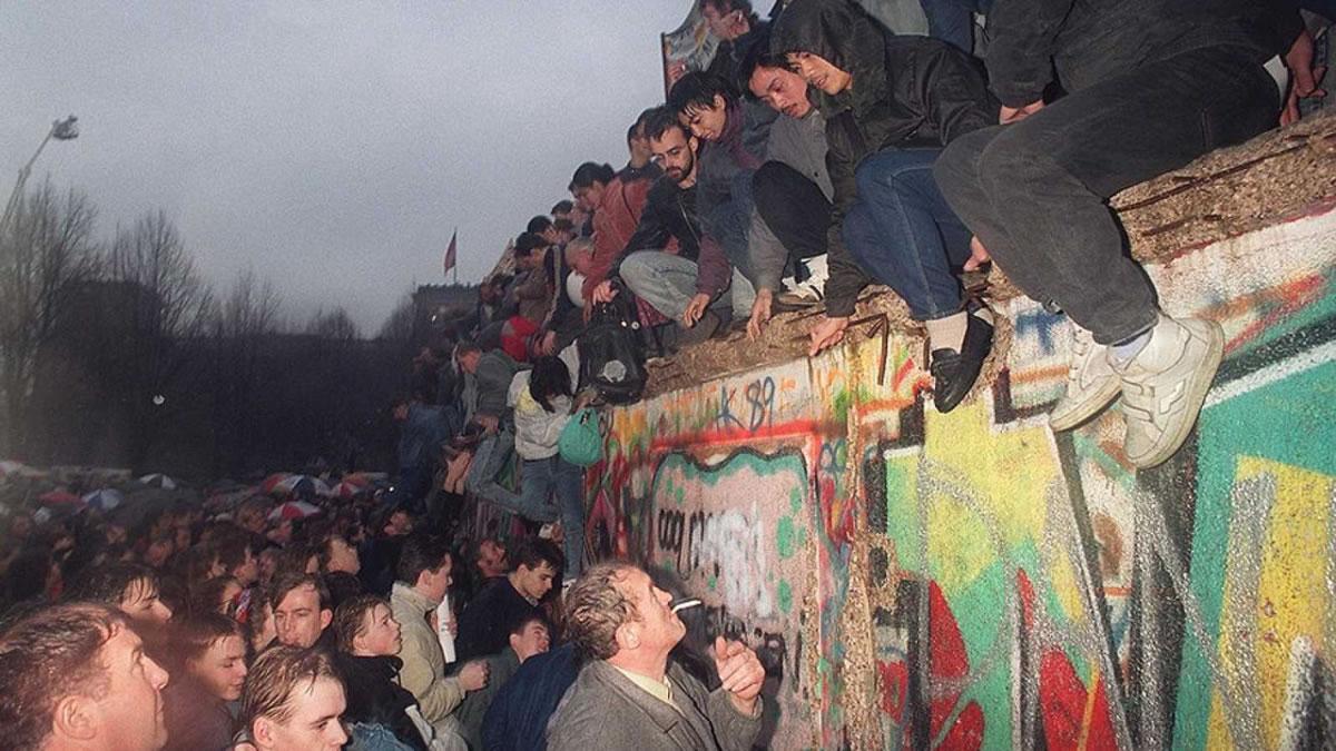 derribo del muro de Berlín