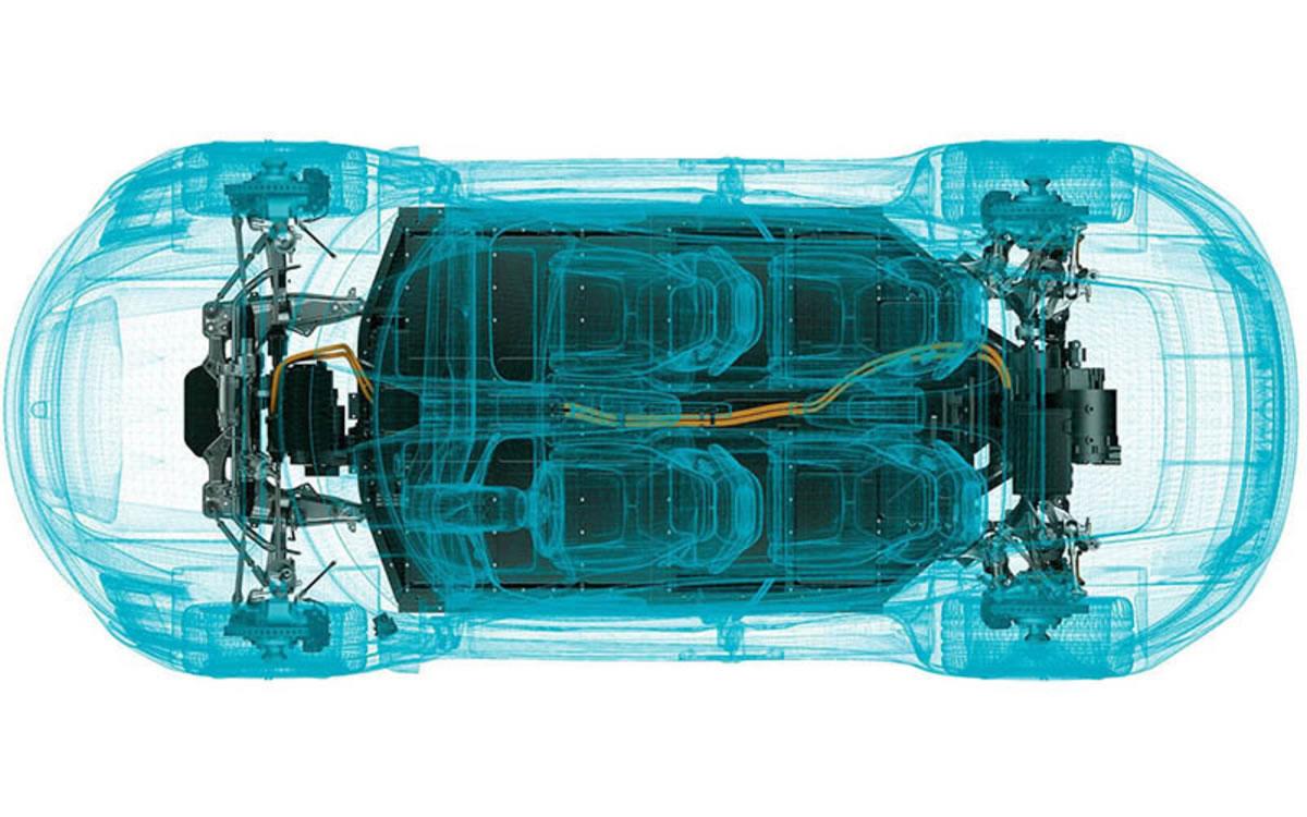 tracción eléctrica del Porsche Taycan