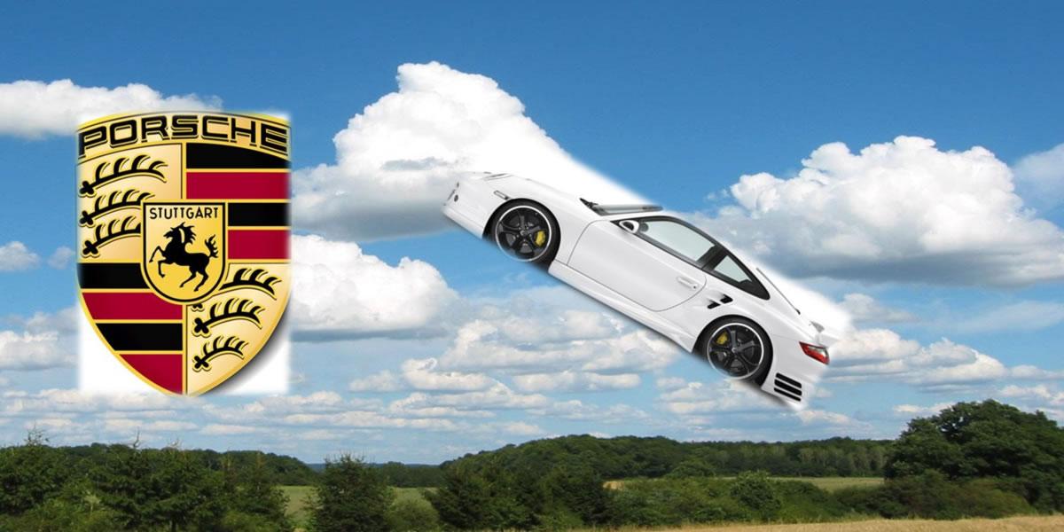 automóvil volador de Porsche