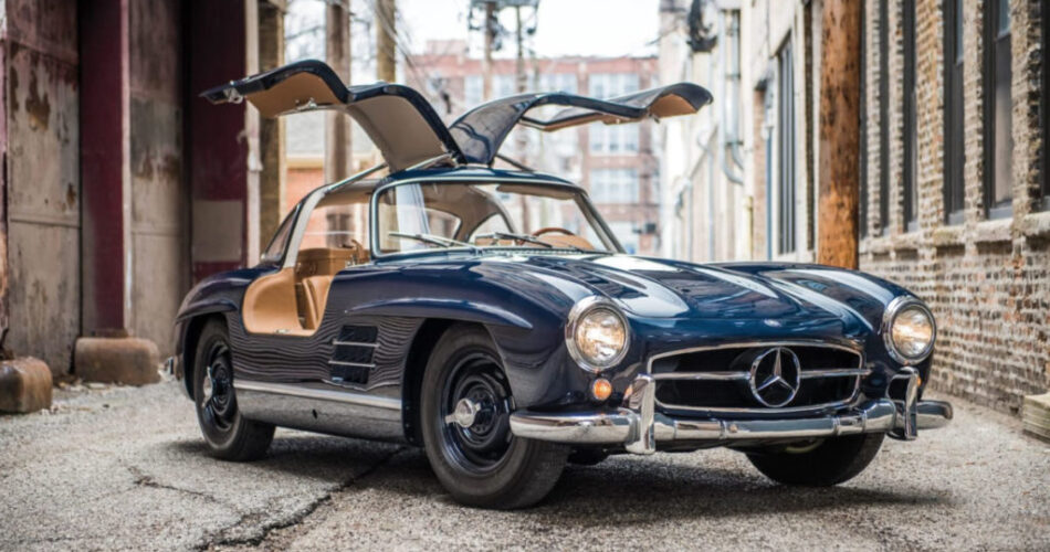 Mercedes alas de gaviota