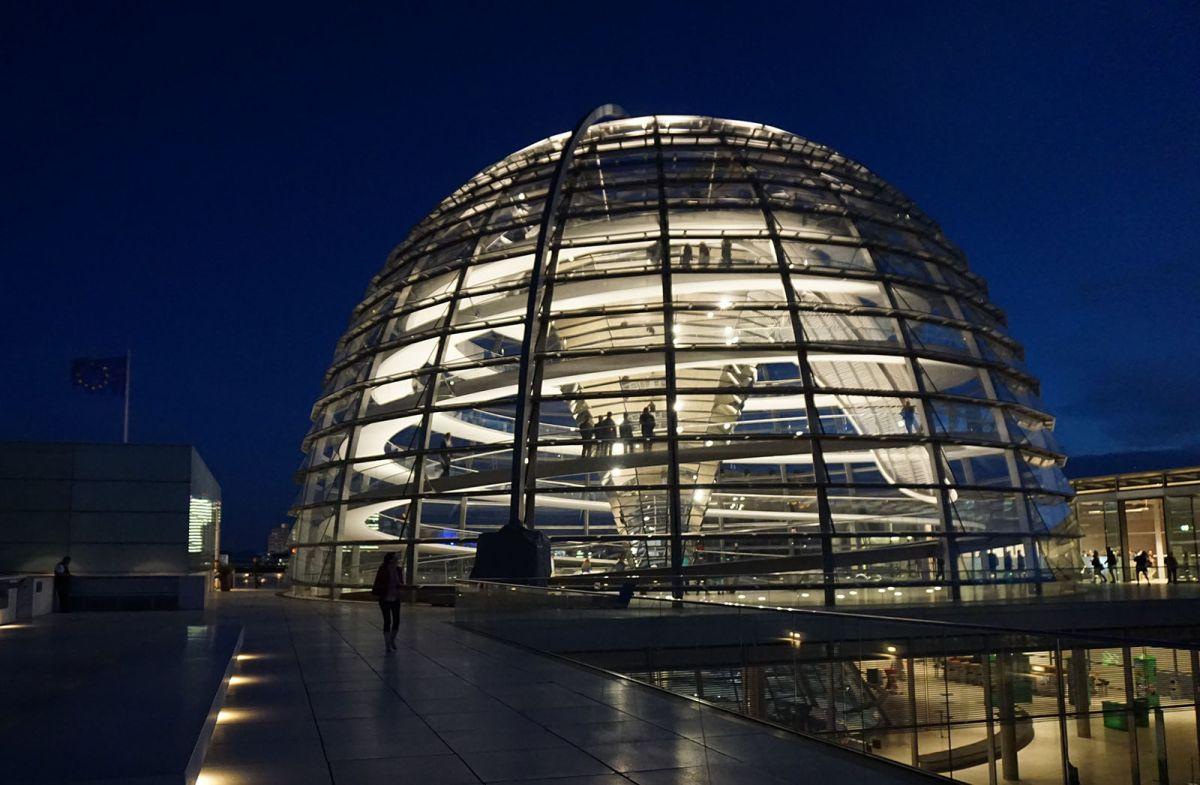 visita turistica al reichstag