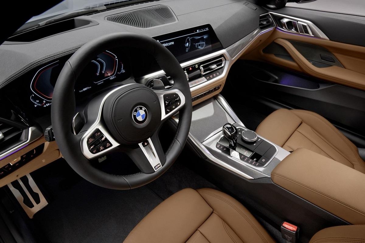 vista interior del nuevo coupe de bmw