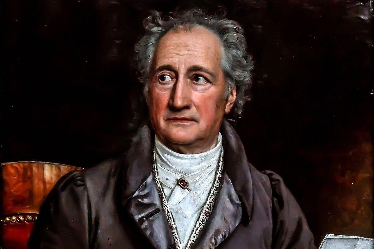 el escritor Goethe