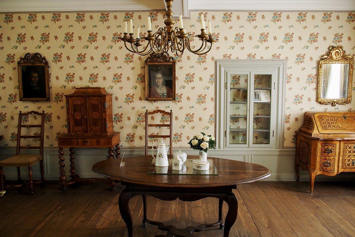 comedor en casa de Goethe