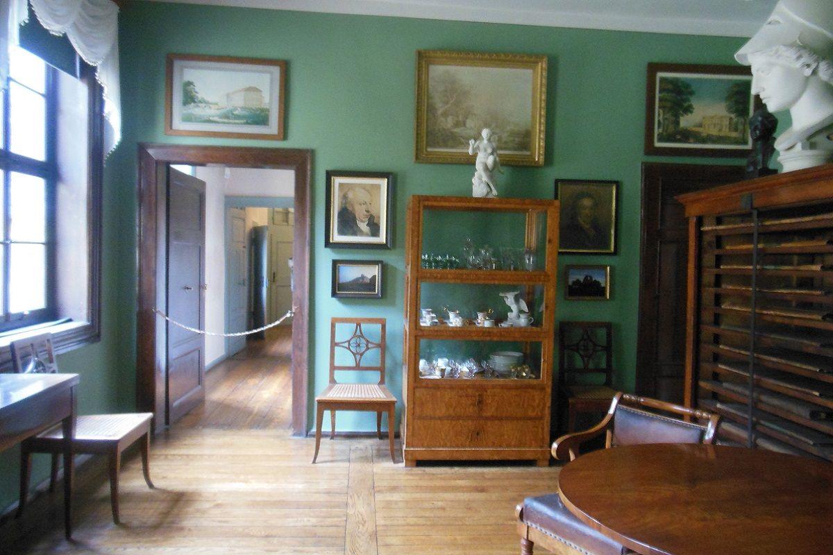 salón del Museo Goethe