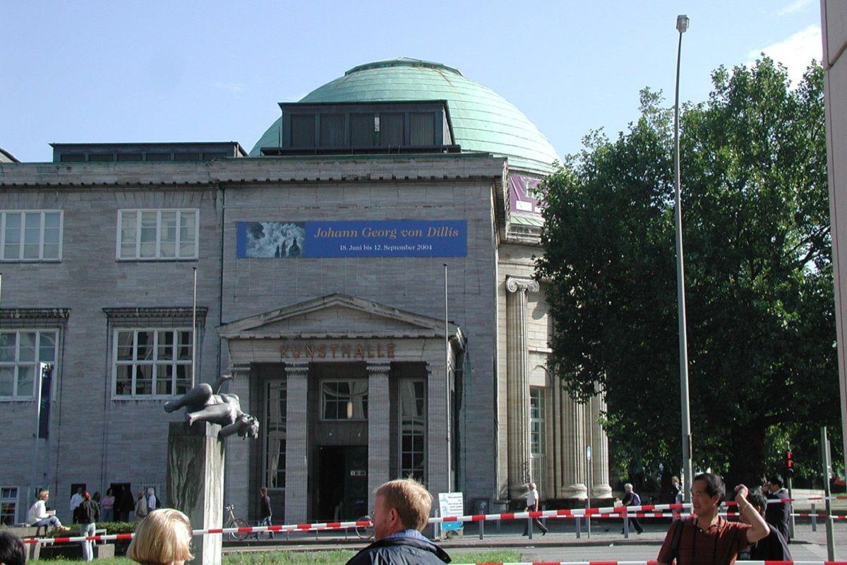 sala abovedada del museo de Hamburgo