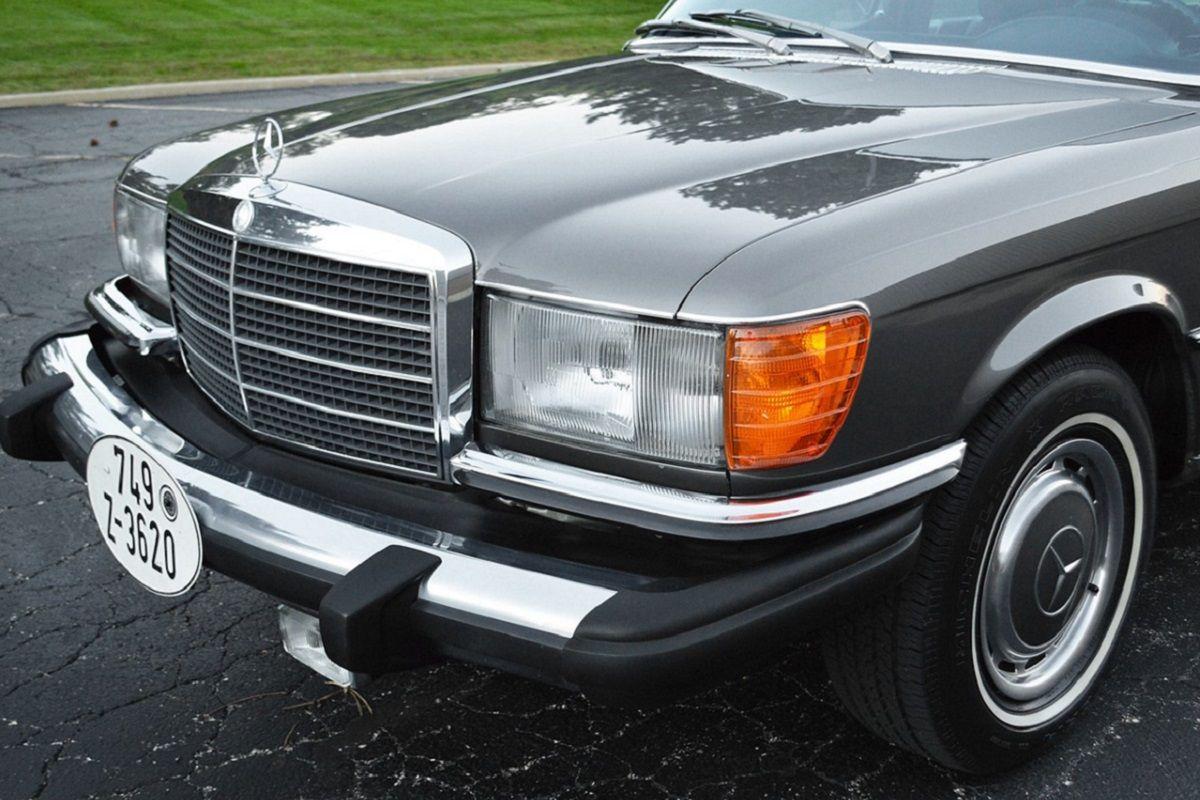 frontal del Mercedes 450 SEL