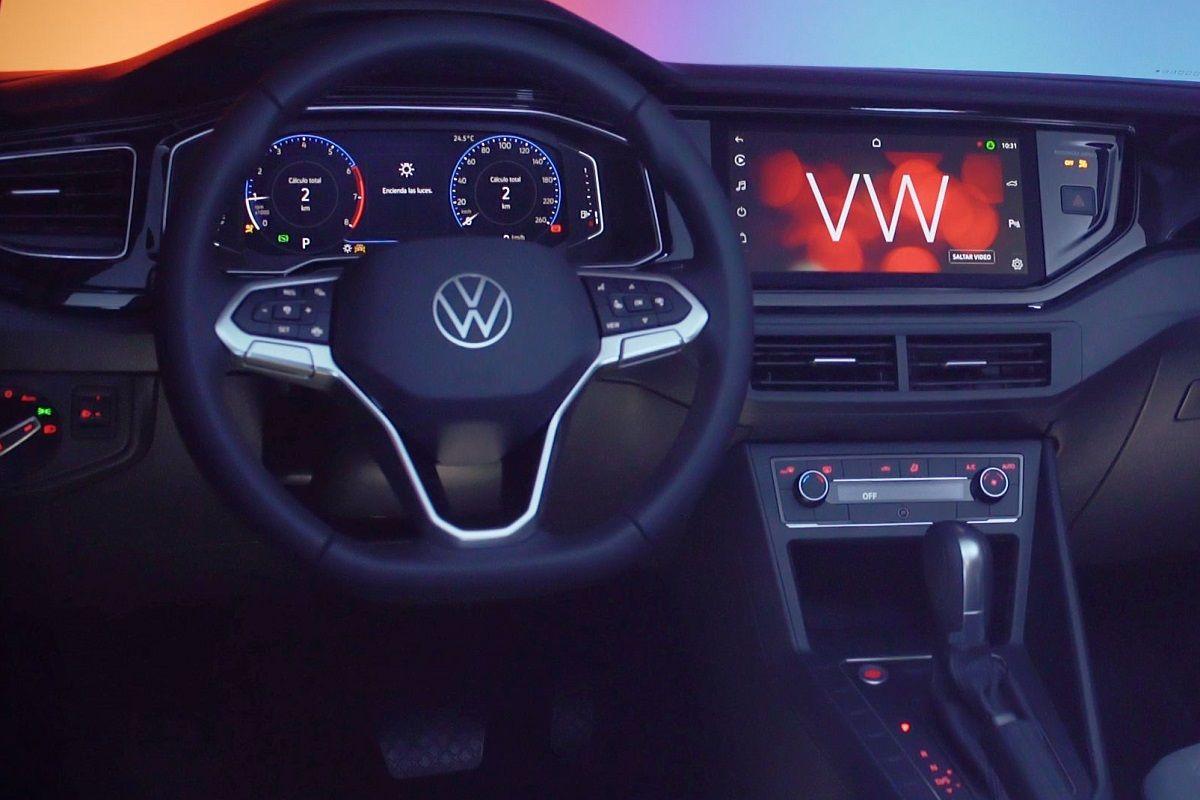 volante del VW Nivus