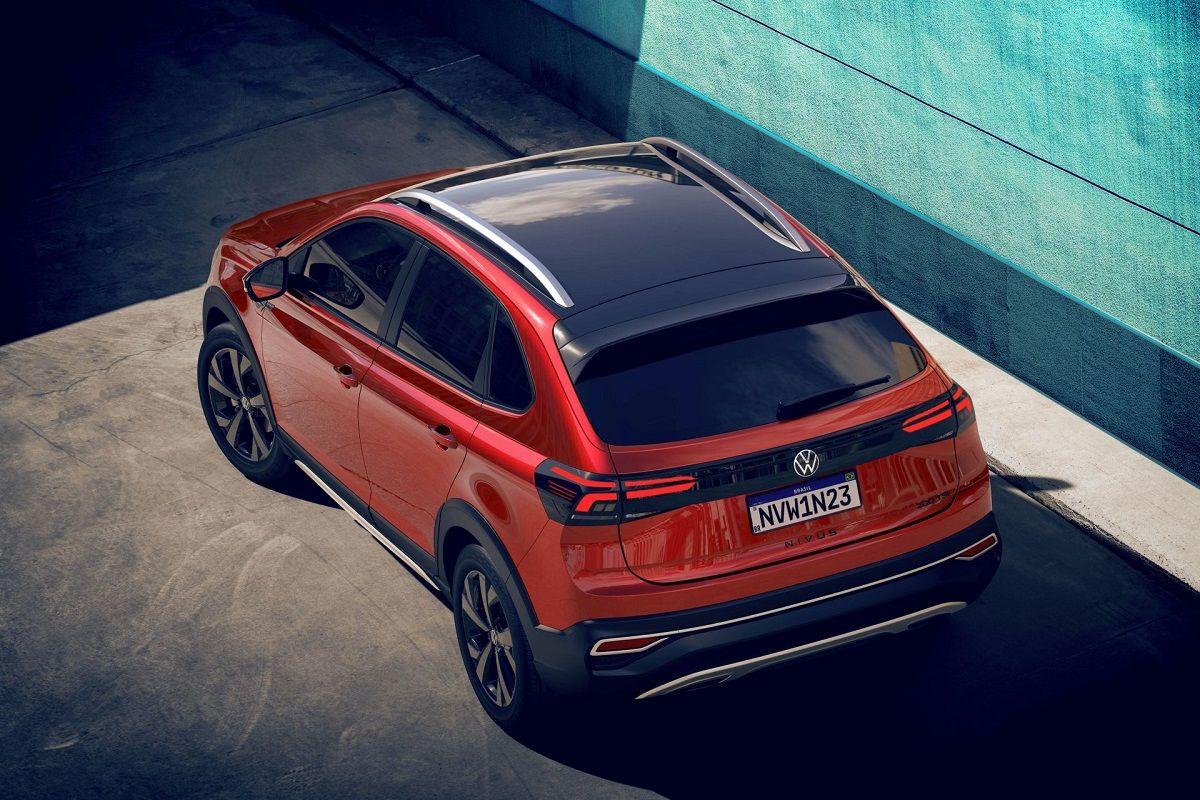 Volkswagen Nivus vista superior