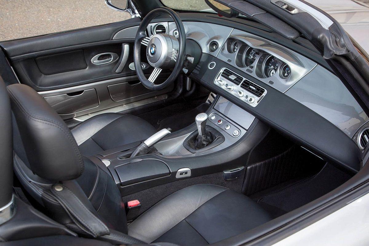 interior del BMW Z(