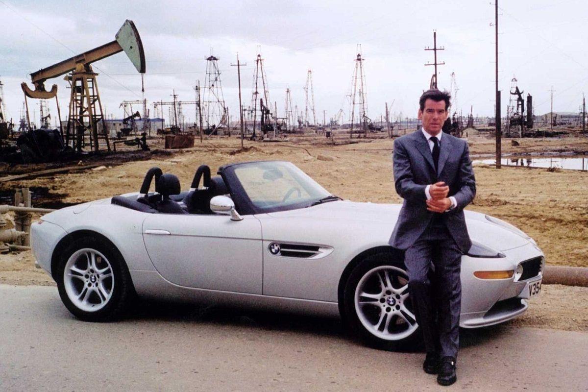 BMW Z8 en película de James Bond