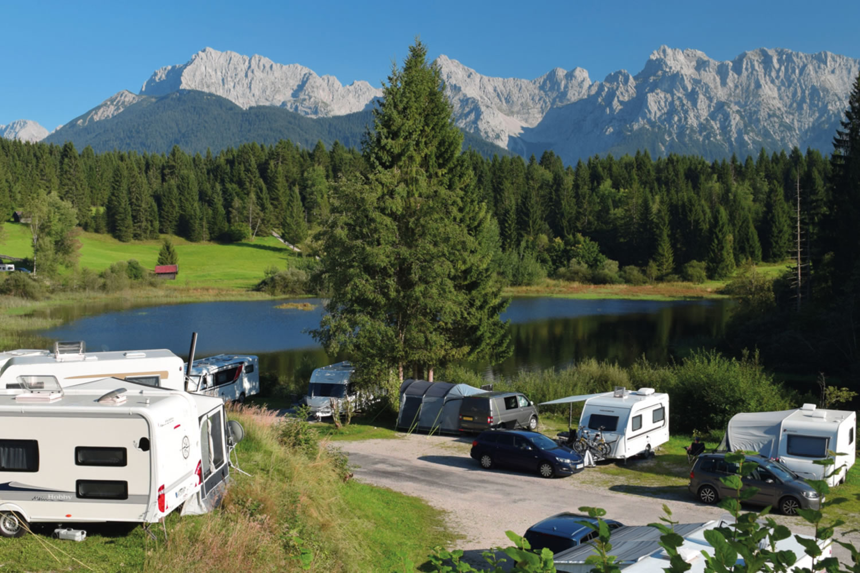 camping de montaña en Alemania