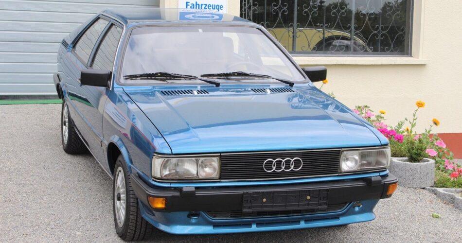 cuatro generaciones del Audi 80